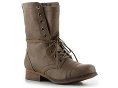 Madden Girl Gamer Combat Boot Casual Boots Boots Women's Shoes - DSW