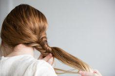 Fishtail. Plait. Hair.