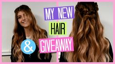 My New Hair & GIVEAWAY (Hair Fashion Night)   katerinaop22 Fashion Night, New Hair, Giveaway, Dreadlocks, Long Hair Styles, Beauty, Youtubers, Greek, Fitness