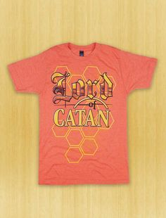 b06d3afd Lord of Catan Vintage T-Shirt Board Game Themes, Board Games, Settlers Of