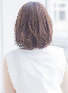 大人可愛い抜け感アンニュイカールボブ(髪型ボブ)