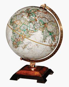 Bingham World Globe by National Geographic