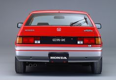 ホンダ CR-X 1.3 バラードスポーツ Honda Crx, Honda Civic, Honda Prelude, Transporter, Motor Car, Motor Vehicle, First Car, Japanese Cars, Old Cars