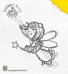 SWE001 (With Star) - Stamp Sweet Elin - Nellie Snellen