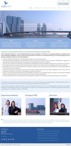 Responsive WordPress #Website voor inTouch HRM te Capelle aan den IJssel www.intouchhrm.nl Tevens gehele branding en nieuwe logo verzorgd tijdens hun zeer succesvolle deelname aan ons Boost Your Biz™ Coaching Programma door www.boostingyourbrand.nl