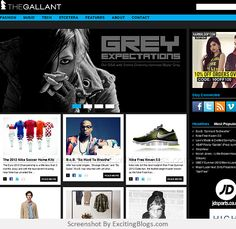 The Gallant   Online magazine for men's fashion, sneakers, music, technology, streetwear. - Click to visit site:  http://1.33x.us/IU7NZs