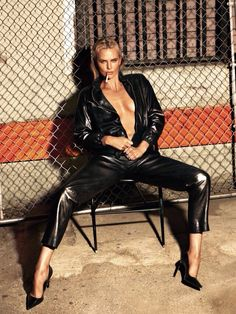 Charlize Theron for W magazine May 2015. Photograph by Mert Alas and Marcus Piggott; styled by Edward Enninful.