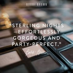 Sterling Nights Collection: Inspiration