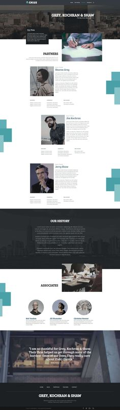 Divi attorney layout pack