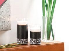 candle holders cardboard tubes