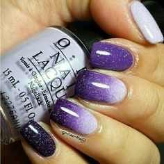 Amp up your manicure with stylish these cool nail art ideas and hot new polish colors. Related PostsNail Art Designs Nail Color Trends Nail Art Designs For Summer nail art for Easy Nail Art Designs winter nail art ideas New wedding rings 2017 Related Fabulous Nails, Gorgeous Nails, Love Nails, Fun Nails, Glitter Nails, Stiletto Nails, Purple Nail Art, Purple Ombre, Purple Glitter