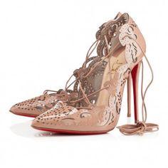 e4e8ac9f82b2 Christian Louboutin Impera 120mm Nude Patent Leather Women Sky-H High Heel  Pumps
