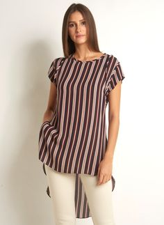 Stylish Tops, Blouse Styles, Sewing Clothes, Traditional Dresses, Ideias Fashion, Womens Fashion, How To Wear, Shirts, Shopping