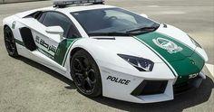 Dubai Police Lamborghini Aventador Interceptor