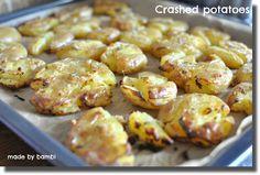 Crashed potatoes – godaste tillbehöret till grillat! | Bambi