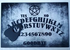 A4 Wooden Pentagram Ouija Board & Planchette, Pagan Wicca, Spritiual, Ghost Hunt Wicca, Pagan, Ouija, Runes, A4, Logos, Board, A Logo, Pagan Witchcraft