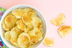 Did you know you can make healthy, delicious potato chips in the microwave?…