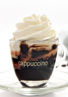 That's either an affogato or an espresso con pannawhichever one it is it Cappuccino I Love Coffee, Coffee Art, Coffee Break, My Coffee, Coffee Drinks, Morning Coffee, Coffee Shop, Coffee Cups, Coffee Lovers