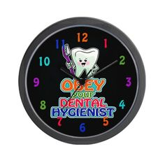 Special Offers - CafePress Dentist Dental Hygienist Wall Clock Standard Multi-color [Kitchen] - In stock & Free Shipping. You can save more money! Check It (June 10 2016 at 06:29PM) >> http://wallclockusa.net/cafepress-dentist-dental-hygienist-wall-clock-standard-multi-color-kitchen/