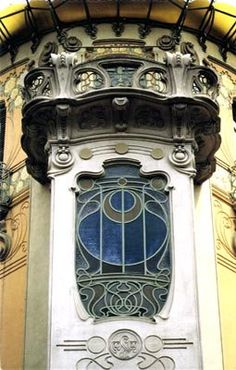 Art Nouveau in Torino, Italy Piemonte