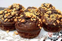 Fantastické čokoládové muffiny bez pšeničné mouky plné kvalitní čokolády   NejRecept.cz 20 Min, Cheesecake, Food Porn, Cupcakes, Yummy Food, Sweets, Cookies, Chocolate, Breakfast