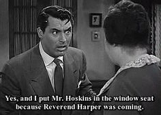 Arsenic and Old Lace, Cary Grant