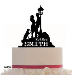 Check out this item in my Etsy shop https://www.etsy.com/listing/175471933/wedding-cake-topper-mr-and-mrs-with