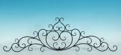 Amazon.com: Decorative Wrought Iron Metal Wall Plaque: Home & Kitchen. Only $33!