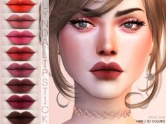 The Sims 4 Lynda Lipstick Sims 3, Best Sims, Los Sims 4 Mods, Sims 4 Game Mods, The Sims 4 Skin, The Sims 4 Cabelos, The Sims 4 Packs, Maxis, Sims 4 Gameplay