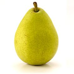 anjou pear- cut it the long way so you can see the star in the middle.