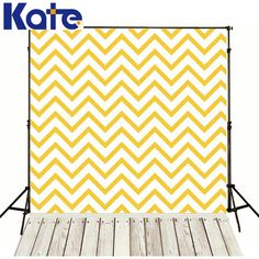 Photo Backdrops Yellow Wave Wall Photography Baby Backdrop Wood Floor Backgrounds for Photo Studio