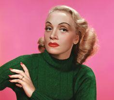 Marlene Dietrich - kodachrome