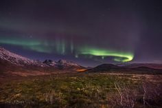 Highland Arches by Derek Burdeny            At the end of a beautiful and successful night of shooting the aurora on the coast, I could not resist stopping and shooting this scene in the mountains, on the drive home.            Derek Burdeny: Photos                                 #nature #photography
