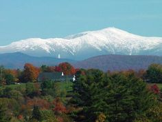 Mt. Washington is the highest point in New Hampshire at 6,288 feet.