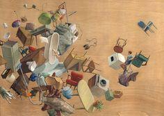 Gravity-Defying Artworks by Cinta Vidal Agulló | Inspiration Grid | Design Inspiration