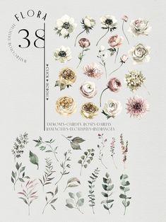 """WINTER MOOD"" Seasonal collection by Anastezia Luneva on @creativemarket"