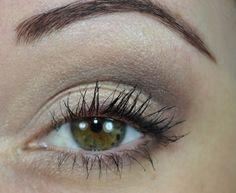 Tutorial de maquiagem básica perfeita para o dia a dia. Maquiagem fácil. Olhos verdes.