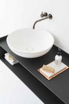 Wall-mounted vanity unit SCENE by Not Only White