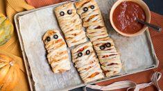 recette momies-pizza en pâte feuilletée