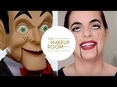 The Makeup Room With Casey Holmes: Get Her Halloween SLAPPY Look from #Goosebumps!
