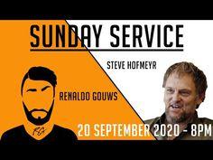 Sunday Service | Steve Hofmeyr | South Africa (2020) - YouTube South Africa, Sunday, Youtube, Domingo, Youtubers, Youtube Movies