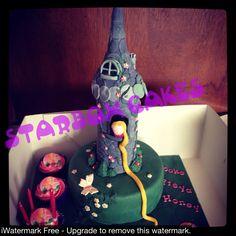 Rupunzel cake