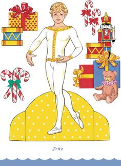 Welcome to Dover Publications Nutcracker Ballet Paper Dolls with Glitter