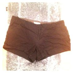 Black Shorts Worn | Reposh | Little Faded | Pockets In Front & Back | Belt Loop | Clasp & Zipper Closure | Fits Me Upper Thigh | I'm 5'2"