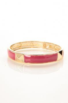 Stud Detail Stretch Bracelet