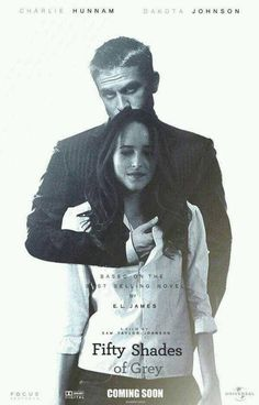 Fifty Shades Of Grey movie poster mock up by EL James..