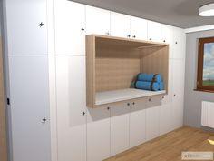 Dětský pokoj pro malého technika – RD Moravičany   očkodesign Bunk Beds, Furniture, Home Decor, Decoration Home, Loft Beds, Room Decor, Home Furnishings, Home Interior Design, Bunk Bed