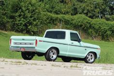 1976 Ford F 100 Rear Three Quarter Maintenance/restoration of old/vintage vehicles: the material for new cogs/casters/gears/pads could be cast polyamide which I (Cast polyamide) can produce. My contact: tatjana.alic@windowslive.com