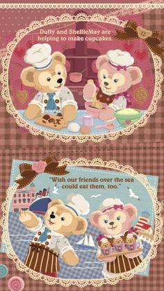 ダッフィー/Duffy[01]iPhone壁紙 iPhone 7/7 PLUS/6/6PLUS/6S/ 6S PLUS/SE Wallpaper Background