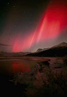 Two Below by Dave Parkhurst - Aurora Borealis - Northern Lights